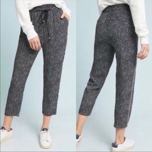 By Anthropologie Ett:Twa Floral Jogger Style Pants